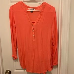 Old Navy Small Coral Tunic